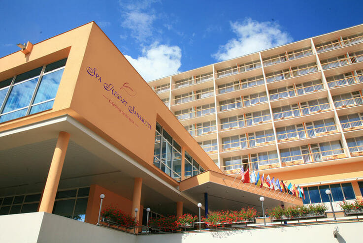 Lázeňský hotel Spa Resort Sanssouci****